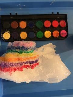 Chúng tôi đã tận dụng tuyết từ thứ Tư và tiết kiệm được một ít để có thể vẽ tuyết bằng màu nước hôm nay! Chúng tôi cũng tổ chức sinh nhật cho cô Iliana và có một bữa tiệc làm bánh gừng! #KWBPride @BarrettAPS @APS_EarlyChild @APSVirginia https://t.co/B9NSU9R8Cj