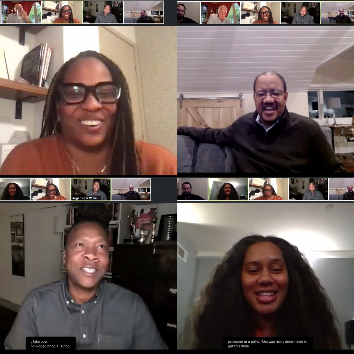 Some great news: Last week's #BestSeatInTheHouse Q&A with the #BetweenTheWorldAndMe team raised $3,045 for @ApolloTheater!   HUGE thanks to @Kamilahf @RogerRossWill @StrautMike and @Al_is_a_Payne for leading this convo on Black resilience & joy. Watch at