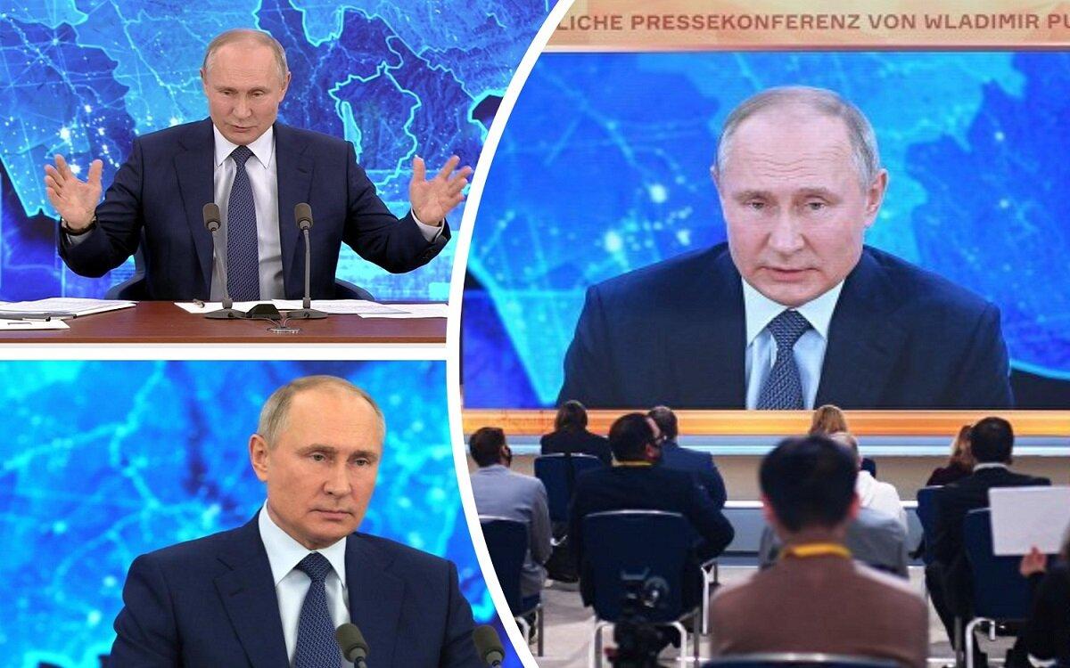 Путин удивил Германию своим видом и поведением