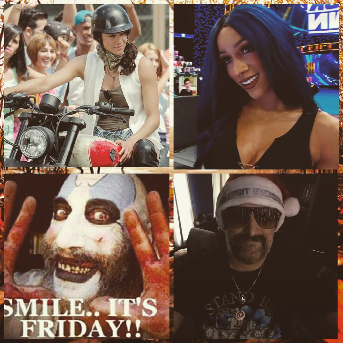 #GoodEvening #FridayNightBanks #Smackdown #TGIF Shhhhhhhhhhhh #ItsBossTime #LetsGo y'all xoxo #Happy #Selfie #WrestlerLover #TeamHorror #horrorfamily #horrorlover #SashaBanks #SashaKrew #LegitBoss #MichelleRodrguez #mrodfamily #mrodlover #Horror4Life #Loyal 😊😍🤡😱😈💀👹💙💜❤