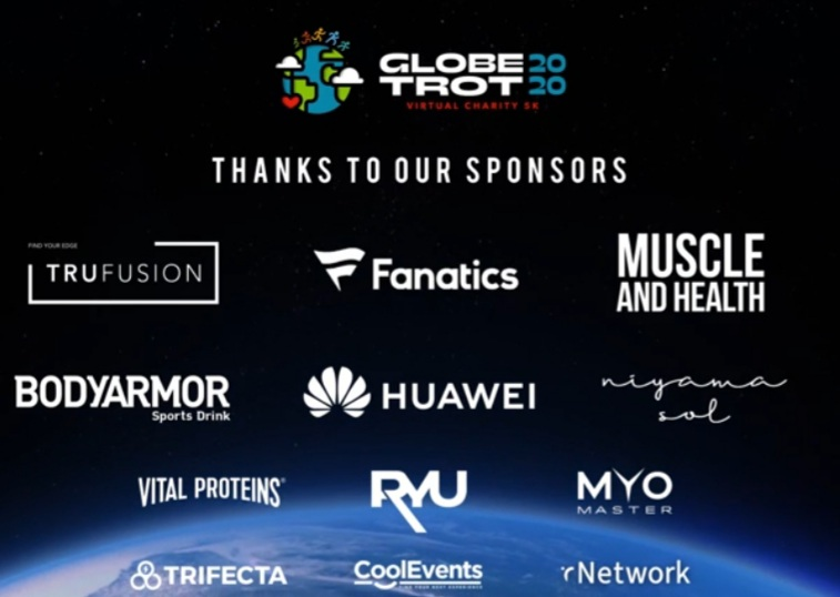 Proud partner of  Globe Trot 202 alongside @TruFusion @Fanatics   @truconnectapp @drinkBODYARMOR @vitalprotiens @Huawei    Sign up for the event through the @truconnectapp  here:    #TRUCONNECTTEAM #run #event