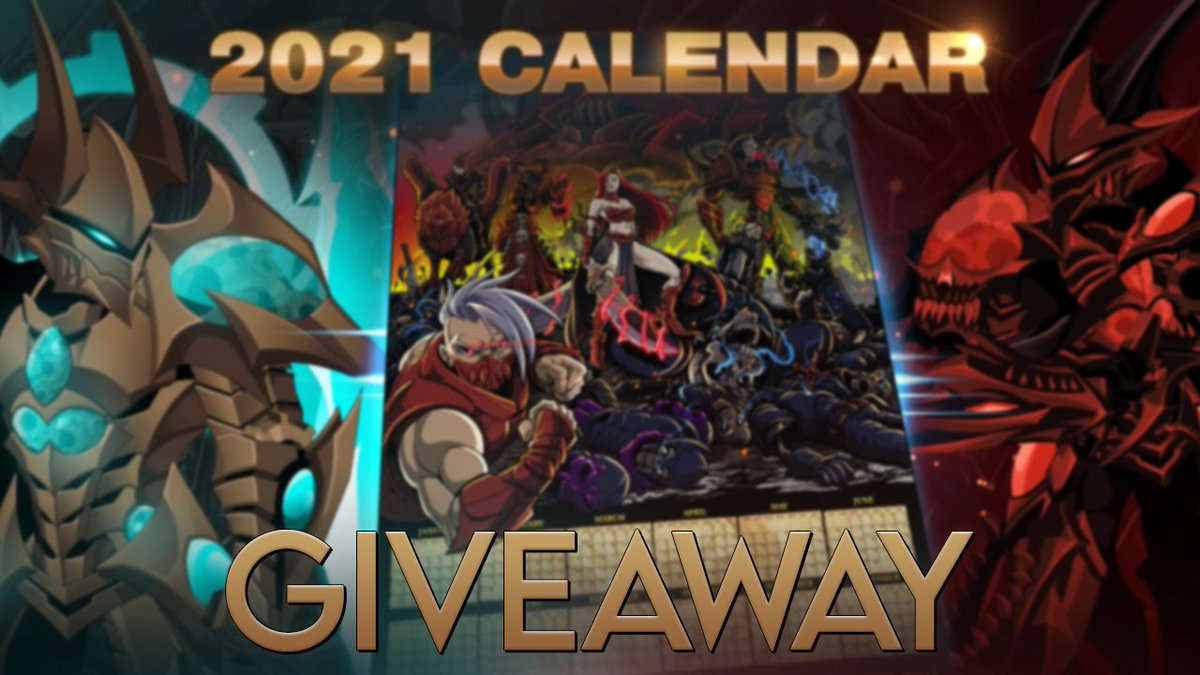2021 CALENDAR CODE GIVEAWAY (code generously provided by Artix Entertainment)  Simply LIKE and RETWEET to enter.  Winner will be chosen Monday, December 21st at 4:00 EST.