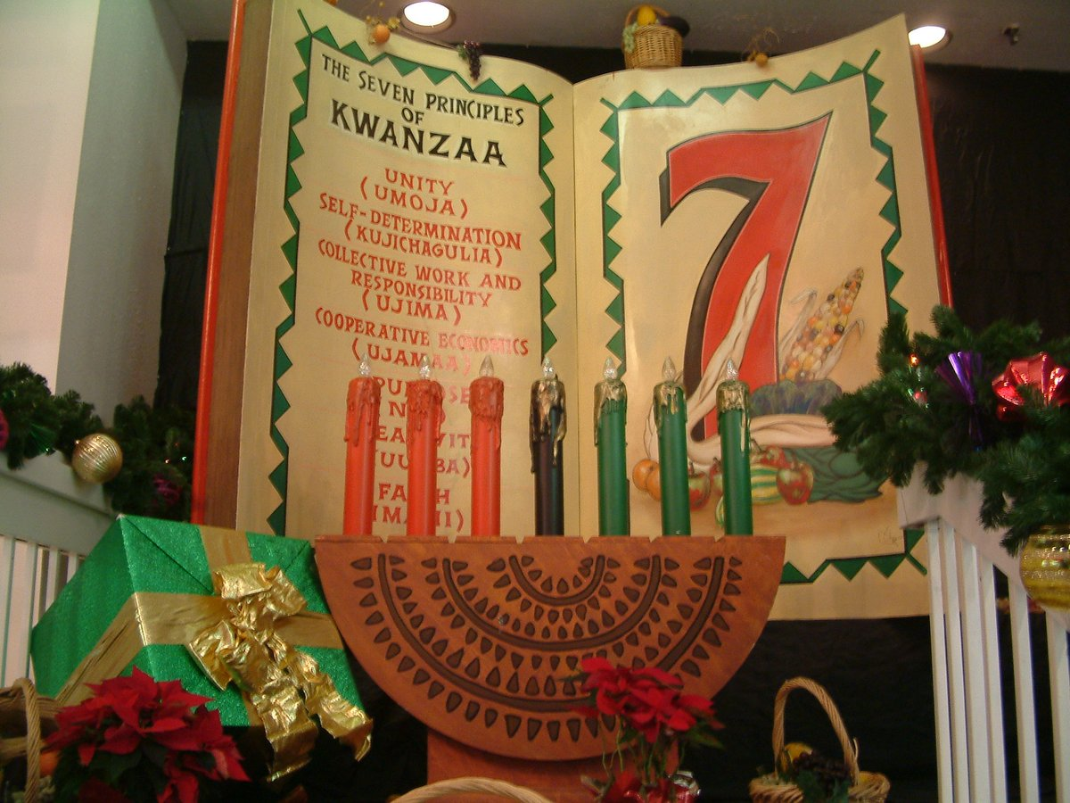 To those celebrating Kwanzaa, we hope you enjoy the festivities however they may look in 2020!  As you reflect on the seven principles of Kwanzaa, may you be strengthened with a renewed sense of self, heritage, and community for the coming year. #Kwanzaa #africanamericanculture