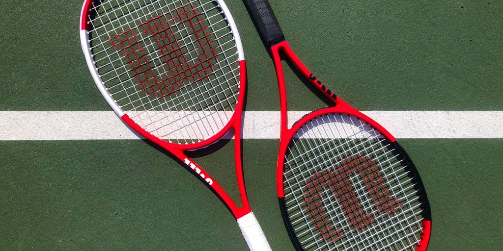 Please don't make us choose between these two beautiful custom rackets ❤️🖤🤍