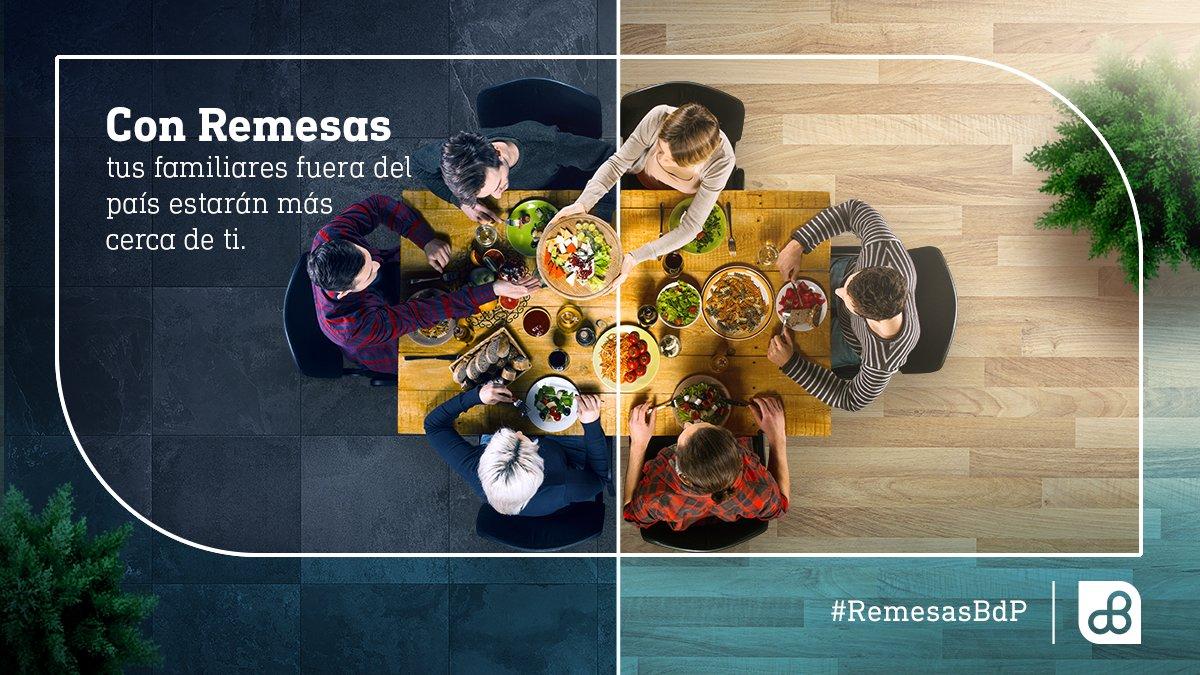 Porque #Navidad 🎄 es una época para compartir con la familia, acércate a ellos a través de #RemesasBdP. Recibe tu #remesa en agencias BdP. https://t.co/DIf6djZmW9