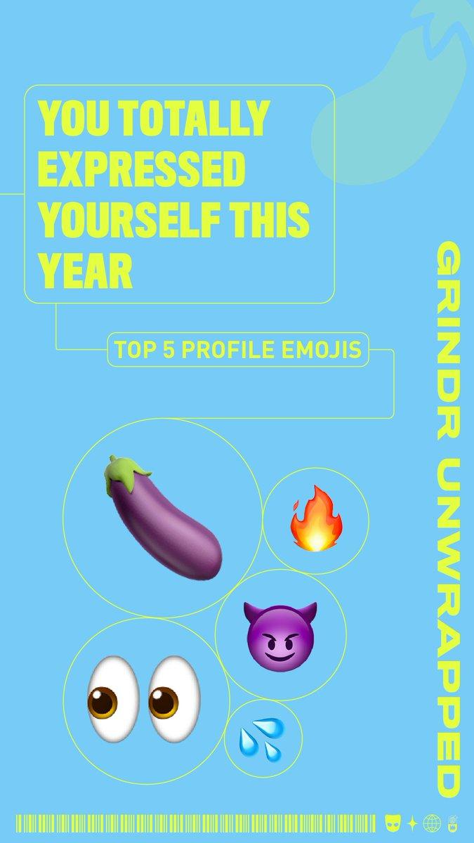 Grindr emoji code