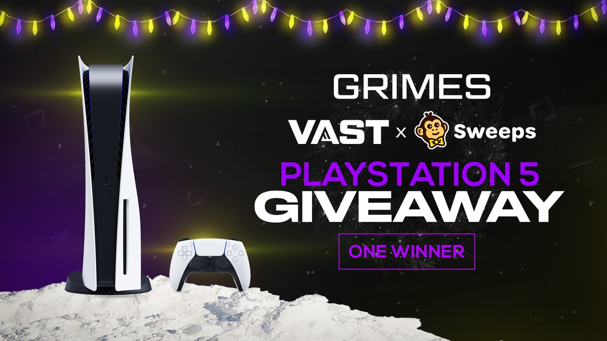 We're giving a #PlayStation5 Disc Edition to one lucky winner that retweets this and tags a friend within the next 72 hours.  You must follow @ThomasGrimes0 + @Sweepsgg and us to win. Ships worldwide.