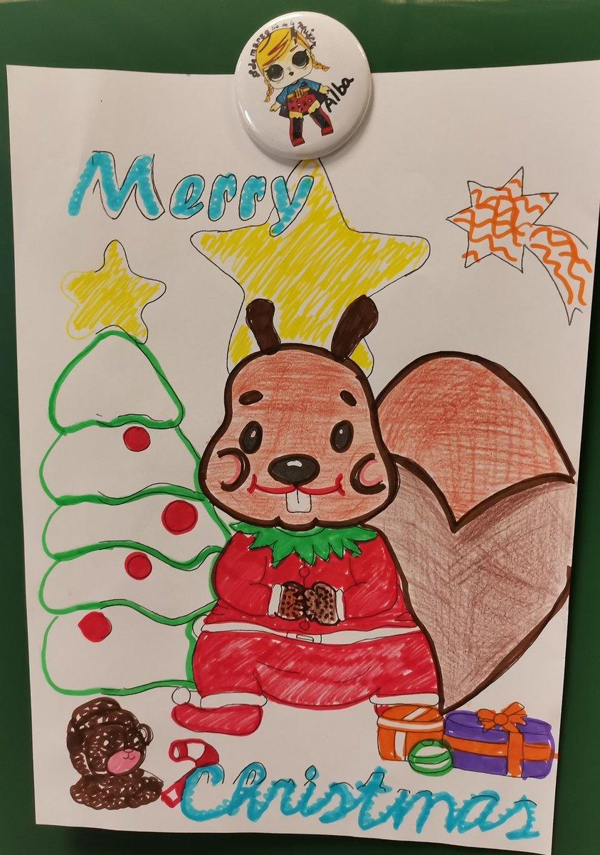 #ChristmasCarlosIII muchas gracias a la #Supermami Odile, por esta preciosa ficha navideña de Charlie, a los niños/as del #ColegioCarlosIII les ha encantado. #ComunidadEducativa #Christmas #JuntosPonemosColorALaNavidad #WeAreJustCarlosIII #Charlie.