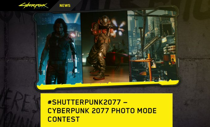 The submissions for this are going to be hilarious, I guarantee.   #Cyberpunk2077 https://t.co/c0Spa