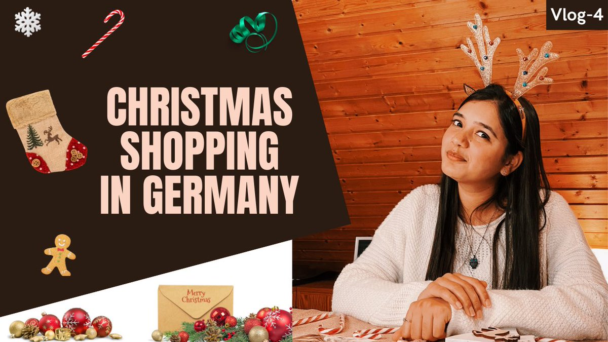 Christmas Shopping | Advent Calendar Mila ya Nahi? | Eri in Germany  via @YouTube  #indianingermany #indiangirlingermany #indiansingermany #ertiqua #eriingermany #indiagermany #christmasingermany #christmas2020 #christmagifts