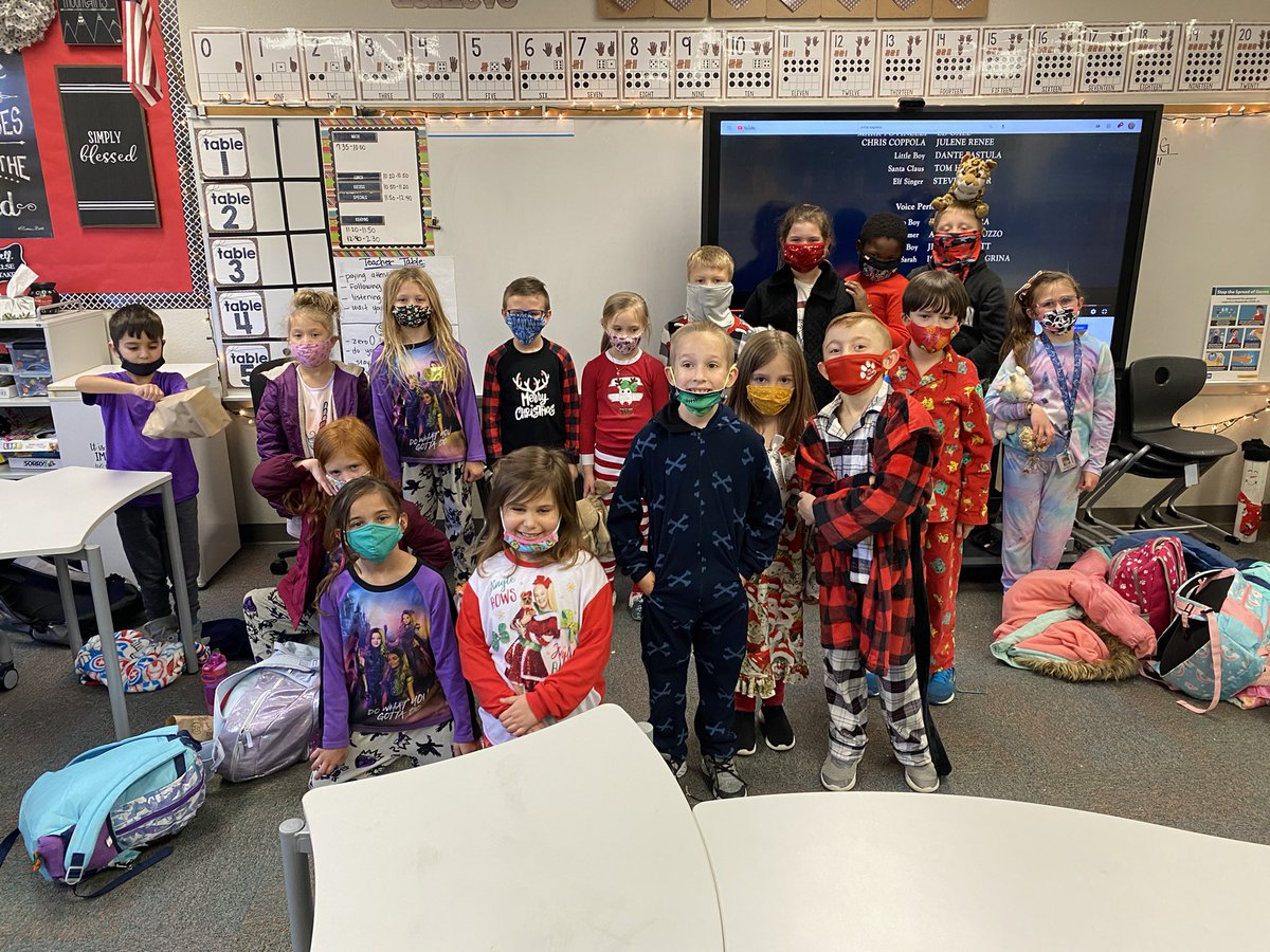 Polar Express day! One of my favorite days of the year!
