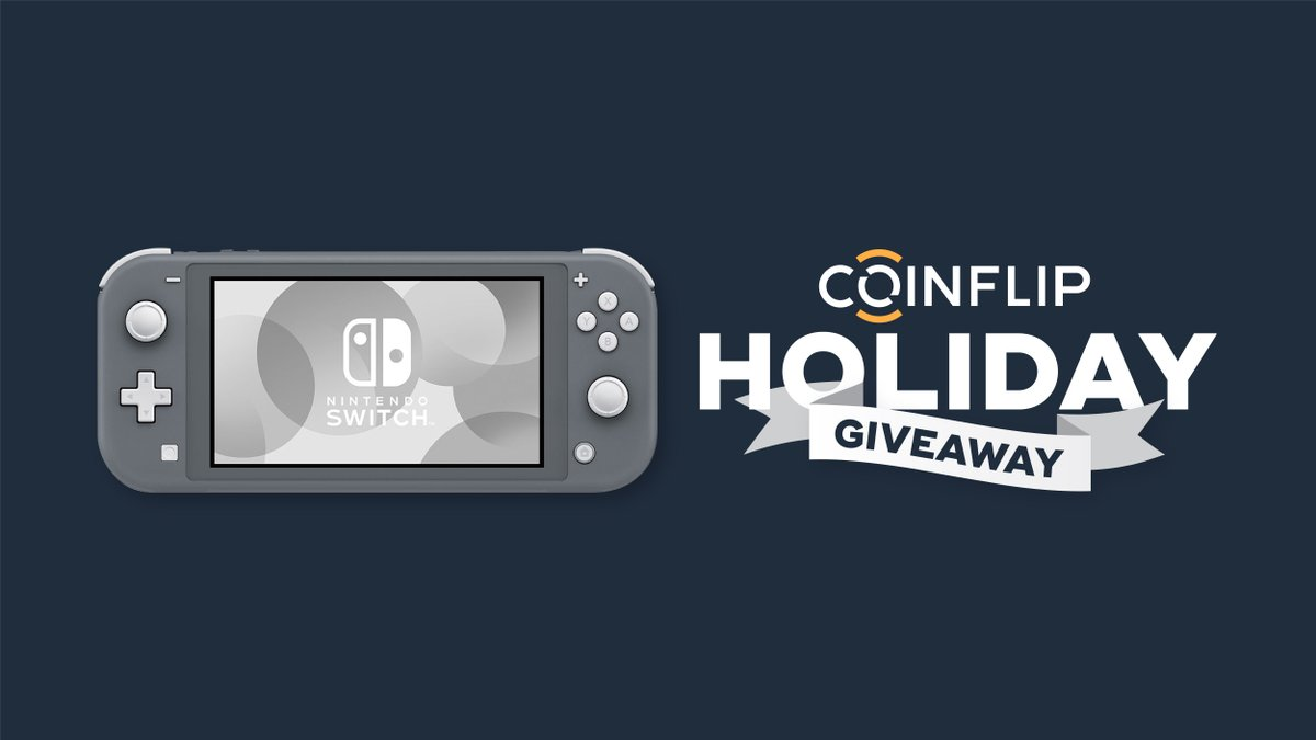 ⭐#NINTENDOSWITCHLITE #GIVEAWAY ⭐  For Day 7 of the #12DaysofCoinFlip we're giving away a Nintendo Switch Lite and $200 in any #cryptocurrency of your choice!   🎮Enter here for a chance to win:   🎮RT this Tweet  Good luck, #FlipGang! 😎