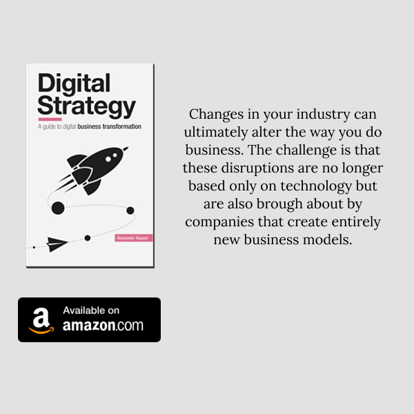 "Prepare for digital disruptions in your industry by reading ""Digital Strategy: A Guide to Business Transformation"" Get this book on Amazon https://t.co/aat25rYCbD https://t.co/bJ6qhAd2G8"