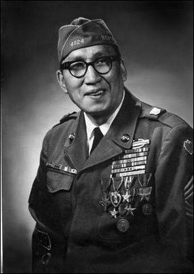 Replying to @AIVMI: Sioux #NativeAmerican WWII Vet Given Medal of Honor in 2008