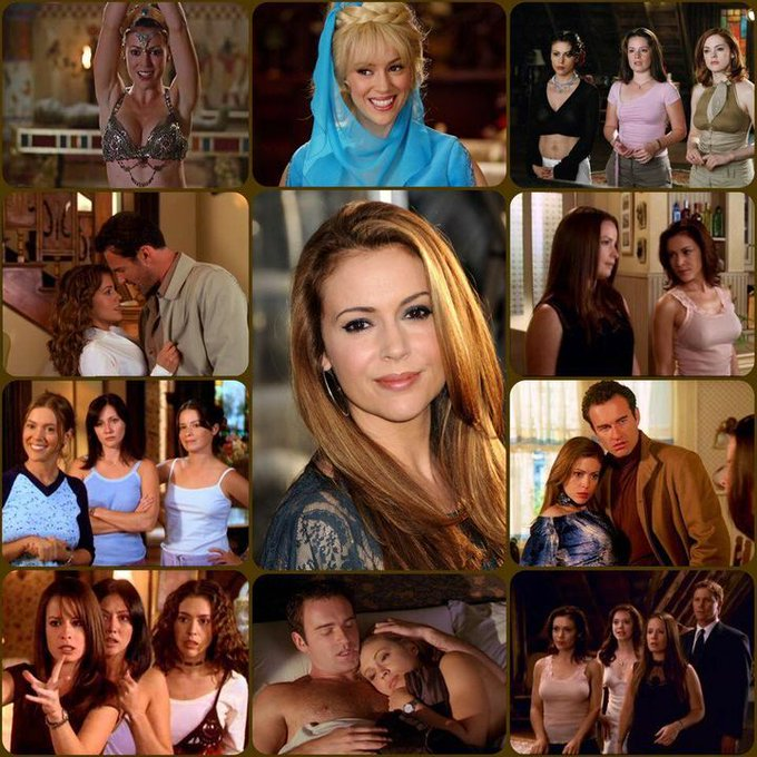 Happy Birthday Alyssa Milano, who played Phoebe Halliwell in Hannah Valesic in & more!