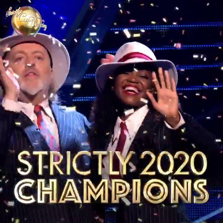 THEY'VE DONE IT! Bill and Oti are your #Strictly 2020 champions! 🏆  @BillBailey @OtiMabuse #StrictlyFinal