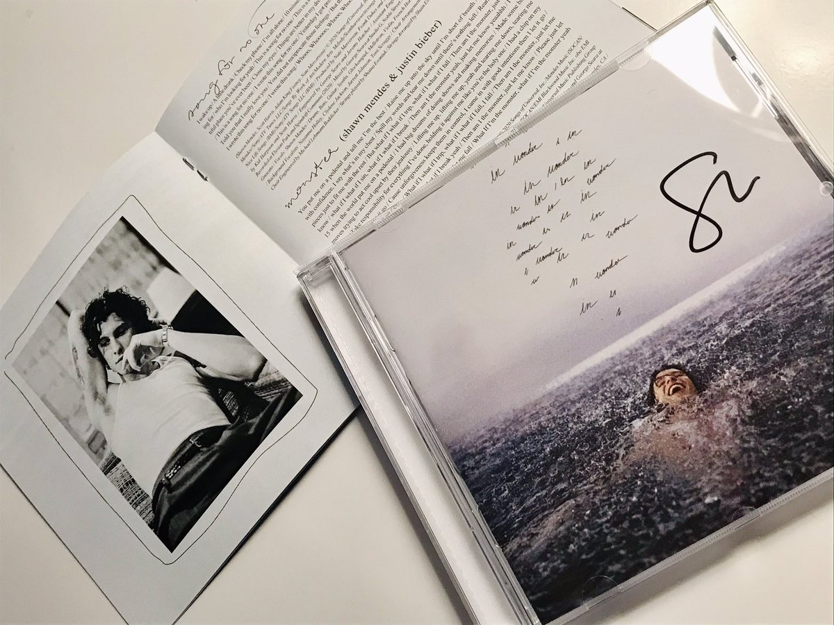 Got my #Wonderalbum just in time for my birthday, best birthday present i could ask for, I love everything about this album, thank you @ShawnMendes for sharing it with us, I'm so proud of you 🤍   @ShawnAccess #WONDERBUYOUTS #STREAMWONDER #DOWNLOADWONDER