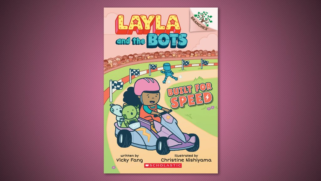 This weekend, work on this fun and free coding activity from Layla and the Bots author Vicky Fang with your young readers:  @fangmous #CSEdWeek 🤖