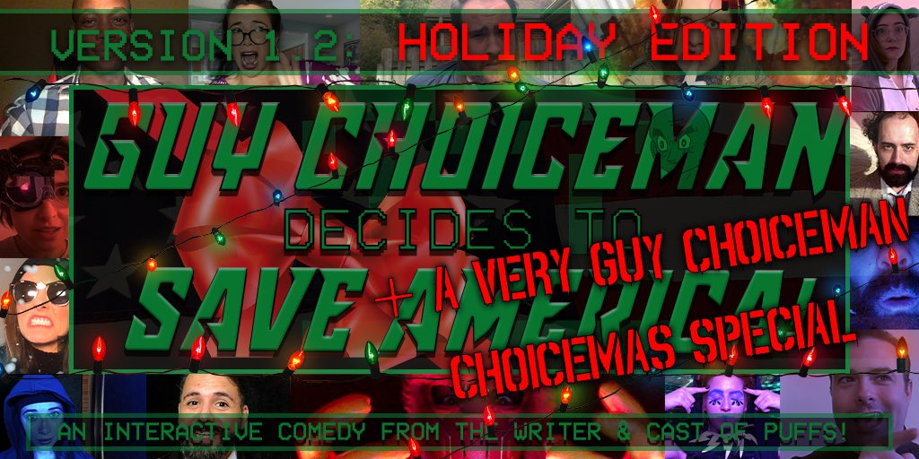It's the most chooseical time of the year - 12/21 - 12/24. Tix: mattcoxland.com