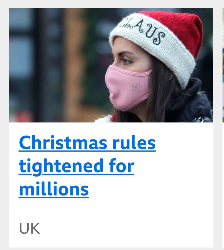 Come on BBC...get it right. *everyone Rules Tightened for Everyone.