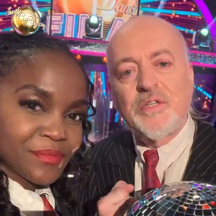Bill and Oti want to thank all of you that supported and voted for them, and thank to you to everybody who watched with us this year. 💖 #StrictlyFinal   @BillBailey @OtiMabuse