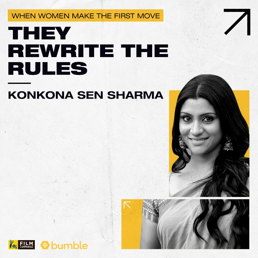 Our next guest on #FCFirstMovers empowered by @bumble is a powerhouse of talent. @konkonas has established herself as an actress and showed her finesse as a director with her very first film. Watch the interview now:    #BumblePartner #MakeTheFirstMove