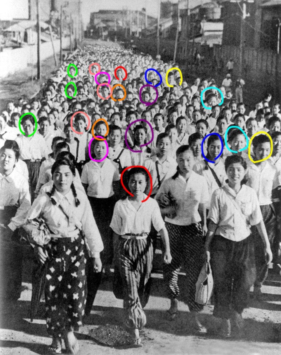 ウォーリー 朝日新聞フォトアーカイブ コラ 戦前 女子挺身隊に関連した画像-03