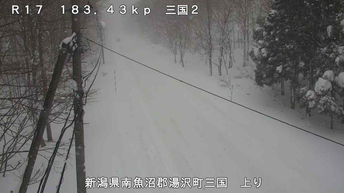 県 カメラ 新潟 道路 ライブ