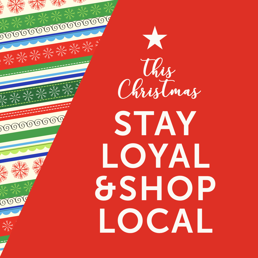 A big thank you this Christmas to all our loyal shoppers! #shoplocal #staysafe