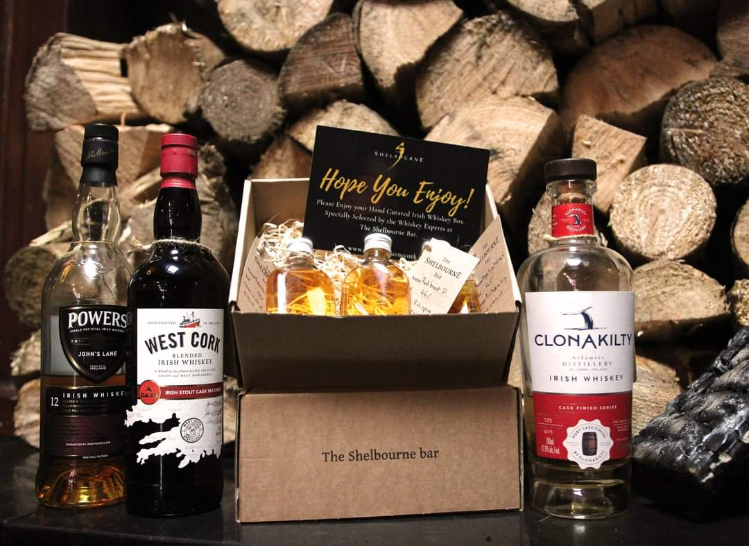 Looking for a local gift this Christmas?  We love our Rebel Intentions Cork Whiskey Box. 3 50ml measures of Cork Whiskeys, handwritten tasting notes and a tasting video!  Shop on our website. Make sure to choose click and collect!   #shoplocalcork