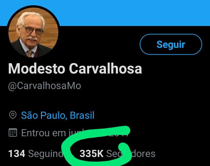 Você eleitor de Bolsonaro que seguia esse cidadão acreditando que ele apoia o Presidente, pode deixar de seguir. É mais um que usou o Bolsonaro.