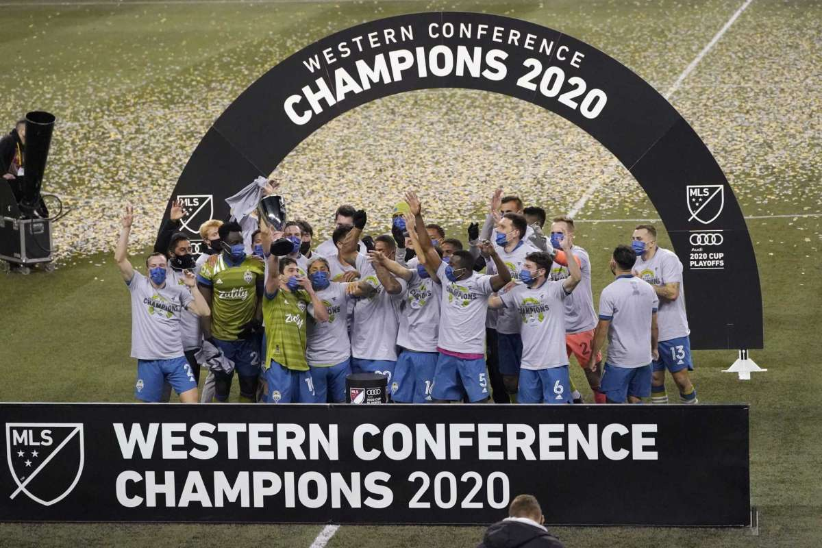 One final shout out to the 2020 MLS Western Conference Champions @SoundersFC!  ⚽️  #mls #gosounders #zulily #mlscupplayoffs