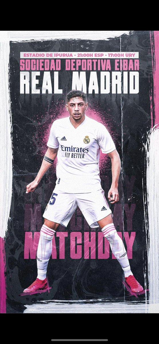 Vamooos! #halamadrid Matchday ⚽️ #RMLiga @LaLiga