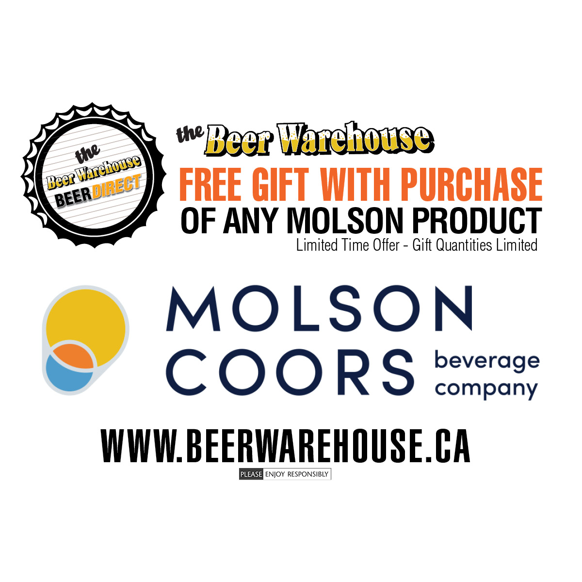 Order a Molson Product from the https://t.co/AJlKOiBl8n and receive a FREE gift. Limited Time Offer - Gift Quantities Limited. https://t.co/RHecvuNVSg