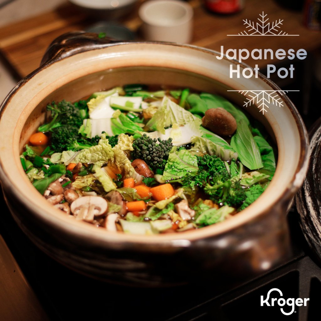 Made with tons of fresh veggies and your choice of protein, Lindsay's Japanese Hot Pot is the warming dish you need for any cold night 🍲