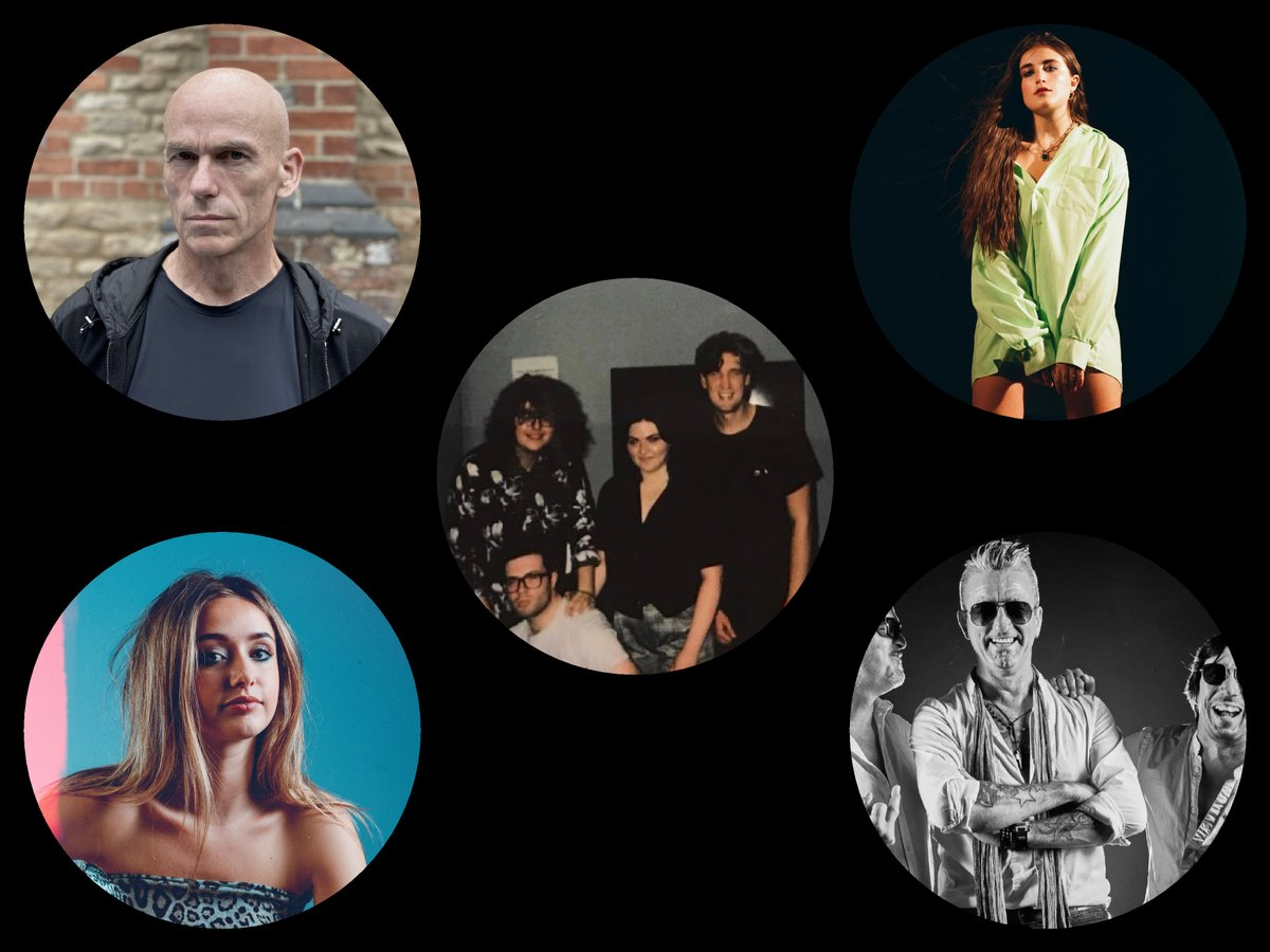 There is a simply massive show for you. This is all who's on.   The band @TheVeganLeather with guest co-host @lkowalskimusic.   From Mark Kelly's Marathon and @MarillionOnline - @markke11y.   Singer @kkittermaster is joining us.   From space @aliensdrd   AND @laurenaquilina.