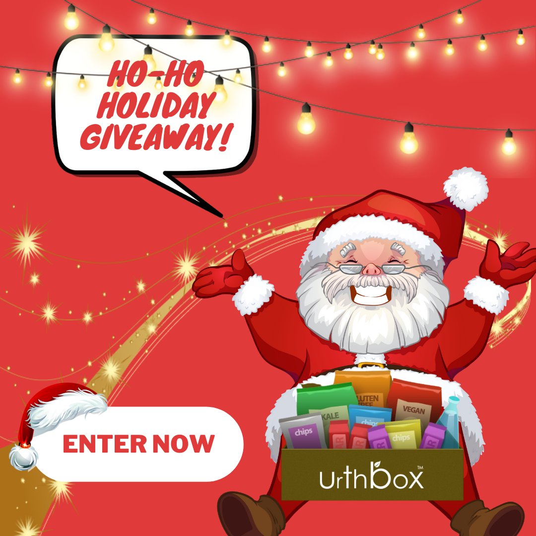 🎉 GIVEAWAY ALERT 🎉 We're giving away a ONE MONTH subscription of our #UrthBox goodies 🎄❄️🙌  Here's how to enter: 1. FOLLOW us! @urthbox 2. LIKE +RT this post! 👆  GIVEAWAY ENDS 12/27/20! Must live in USA to win. Winners will be announced on Instagram.