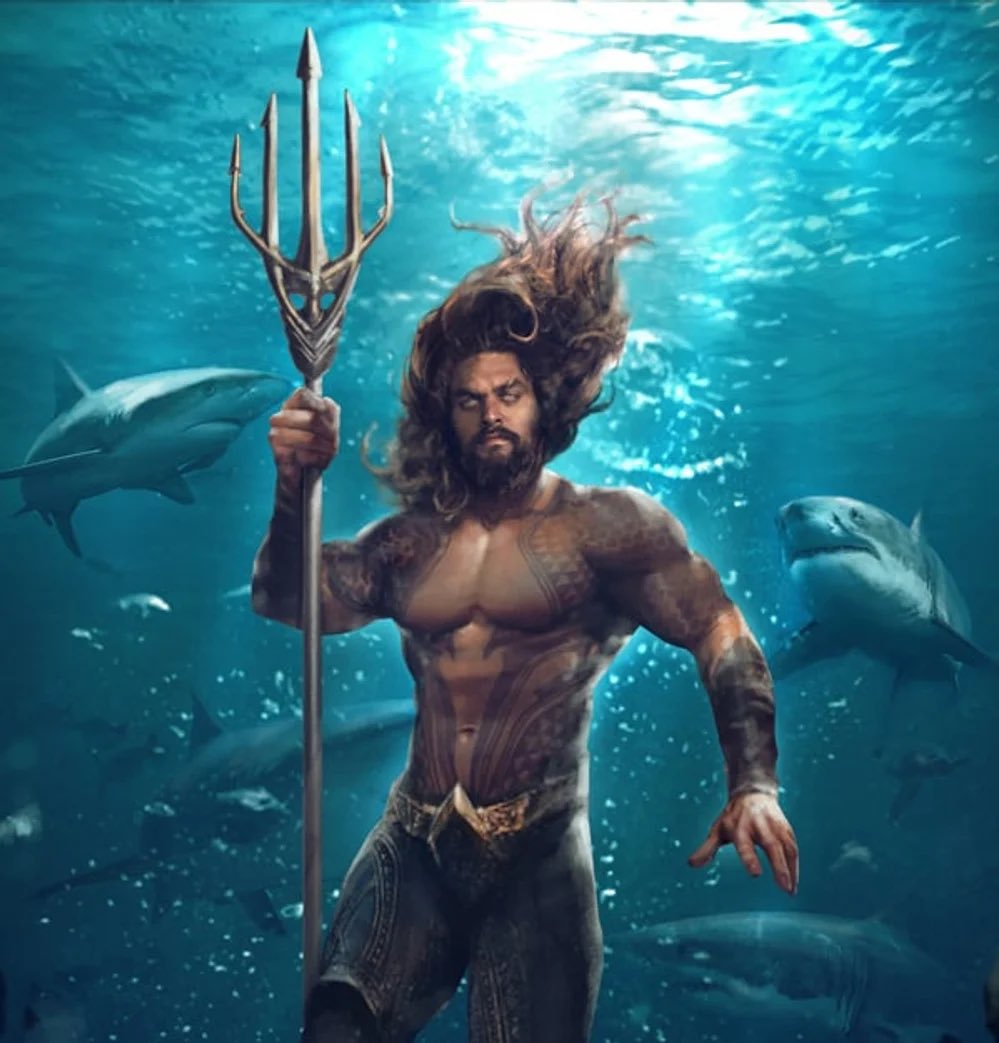 "I know I'm a bit delayed on this, but why does Aquaman's ""Tri""dent have five tines?"