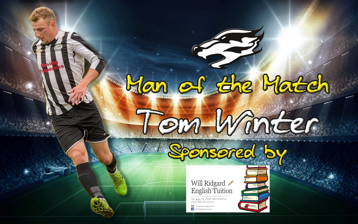 Two-goal @Tomwinterr wins Saturday's MOTM accolade 🦡  Despite nearly breaking the corner flag after falling over it, Tom put in a classy display at the weekend & finished off two great team moves to grab a deserved brace👌    Runner-up? You guessed it...@Joe_Murphy08 again!