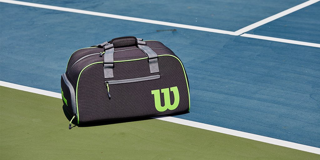 Every racket needs a matching duffel bag. #TeamBlade