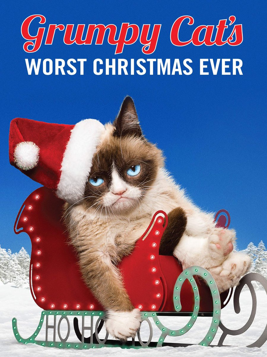 It's not Christmas until you've watched Grumpy Cat's Worst Christmas Ever! iTunes:   Amazon Download:   Amazon DVD:  Target DVD:  Walmart DVD: