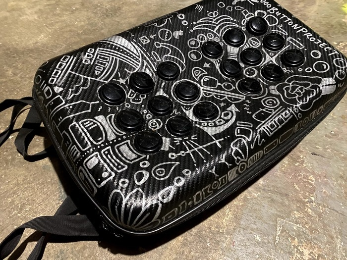 hey folks! Just a few more hours to catch my one-of-a-kind #1000ButtonProject prototype backpack that is currently up for auction (along with a bunch of other stuff) to support indie arcade @wondervillenyc #altctrl