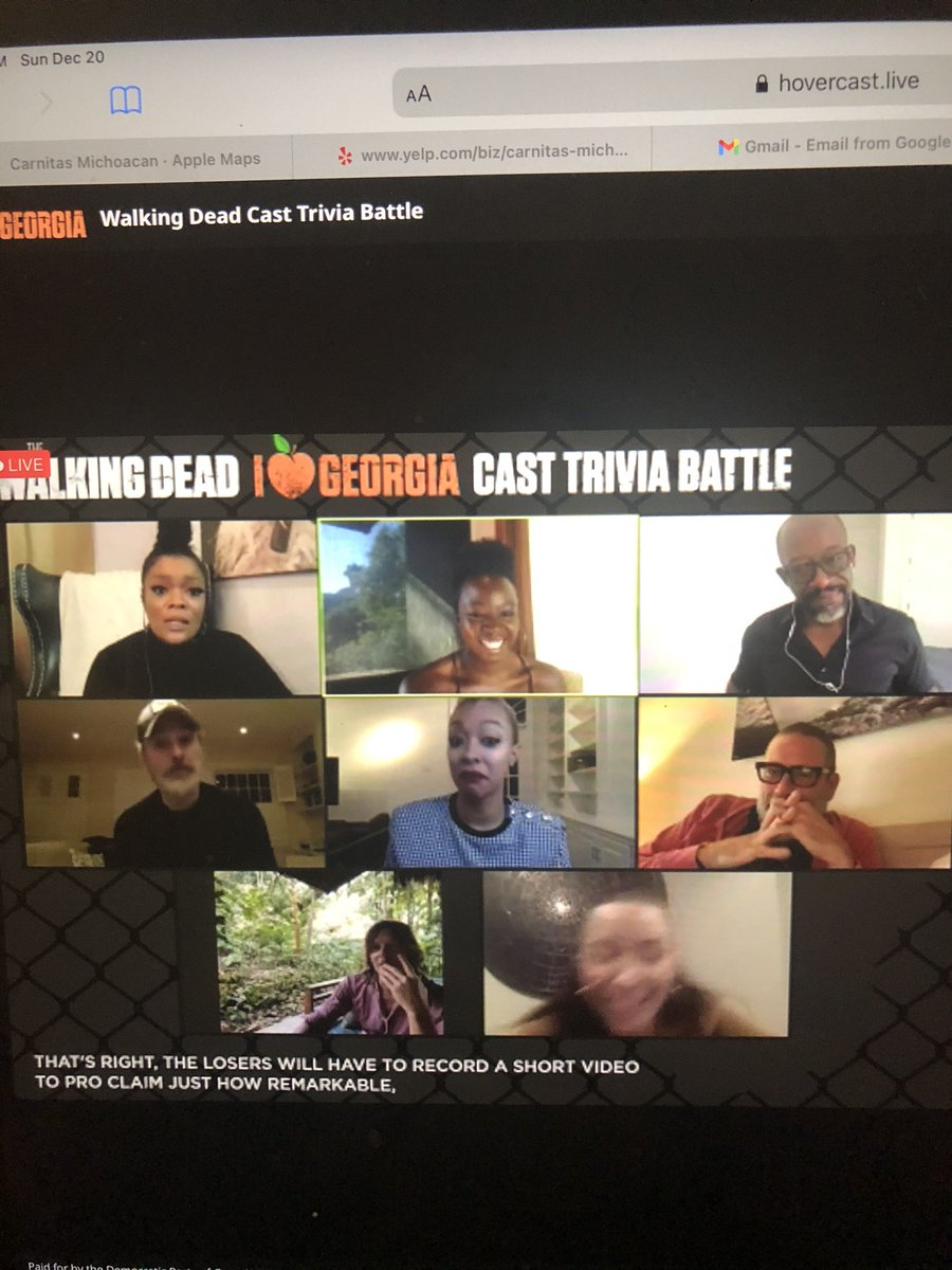 This was an awesome reunion! @TWD_ES cast cracks me up. These are the kind of people I want to do game night with. They should do family feud 😉 #TWD #TWDReunion