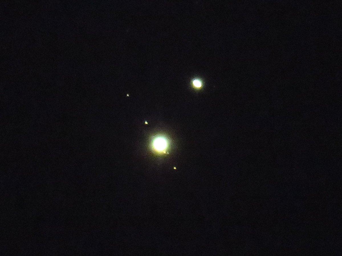 木星 と 土星 の 接近