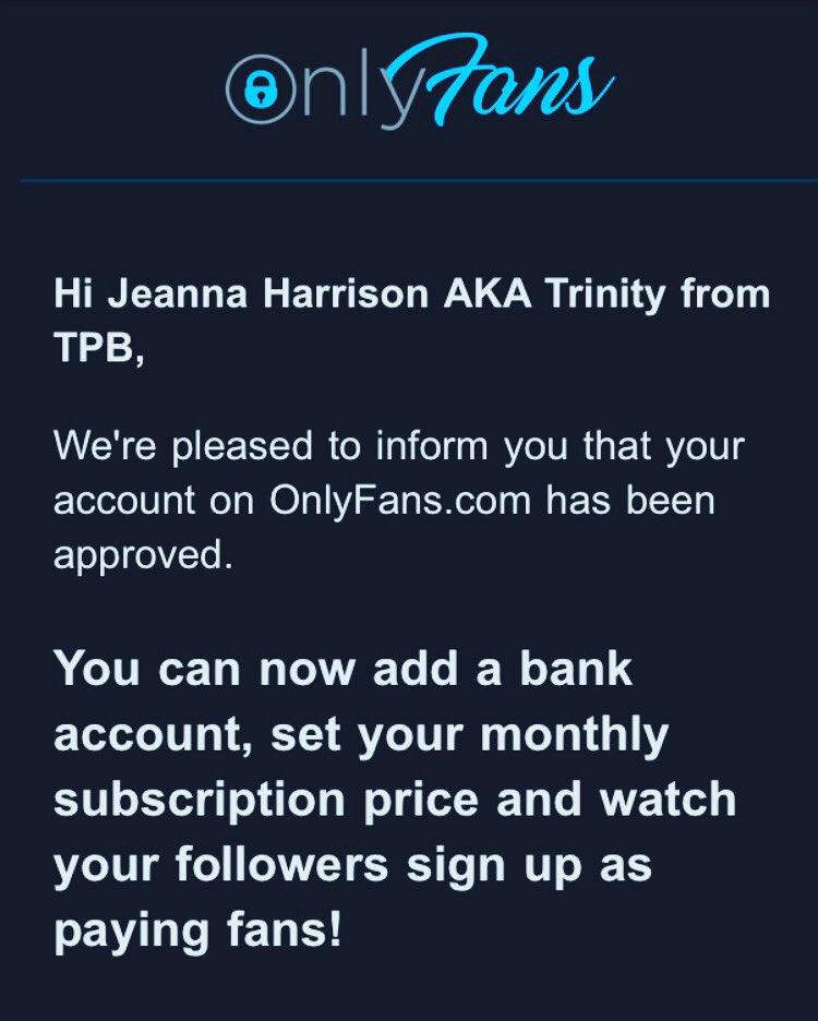 Jeanna Harrison Aka Trinity Trinity876 Twitter Jeanna harrison news, gossip, photos of jeanna harrison, biography, jeanna harrison help us build our profile of jeanna harrison! jeanna harrison aka trinity
