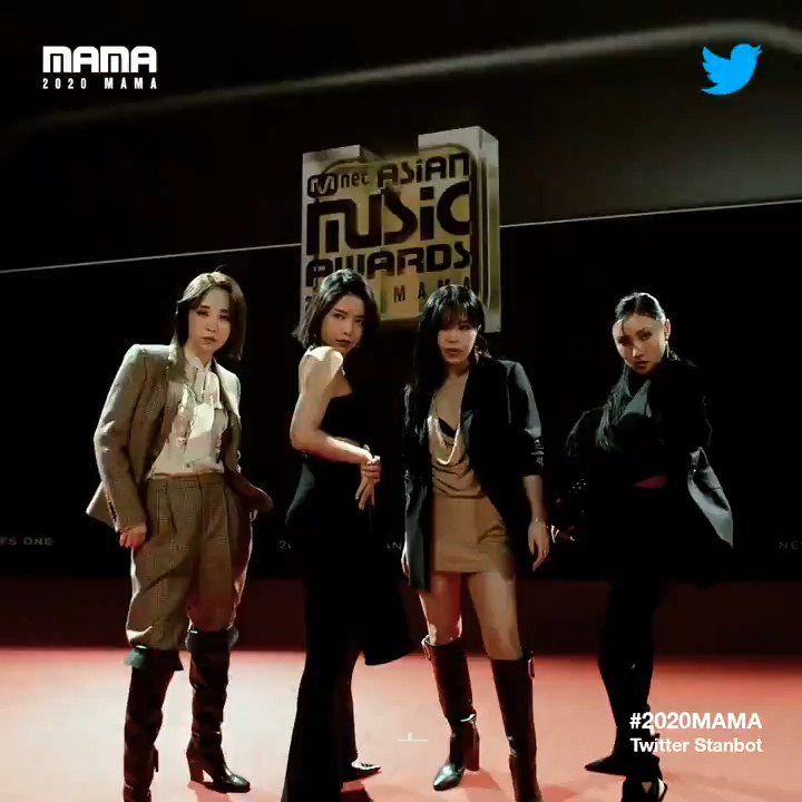 Check #2020MAMA #Twitter #Stanbot Closer Look of #MAMAMOO RBW_MAMAMOO!