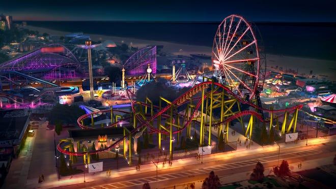 """Ein Blick auf """"Phoenix"""" © Deno's Wonder Wheel Amusement Park"""