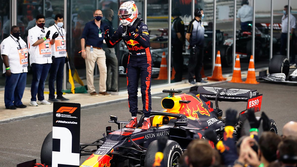 Aston Martin Red Bull Racing On Twitter Max33verstappen Bringing The Curtain Down On 2020 With A Showstopper Of A Drive Chargeon F1