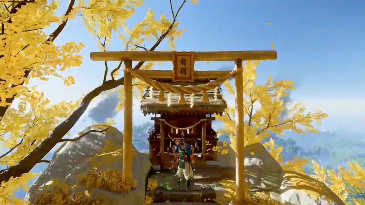 Replying to @PlayStation_jp: 「今年も神ゲー豊作な年になりますように」  #ゴーストオブツシマ #GhostofTsushima #初詣