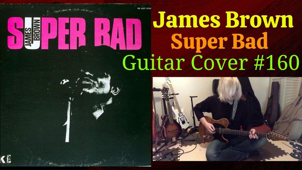 James BrownのSuper Badを弾いてみました。色々カバーはしてきたけど過去一番難しかったような気がする、ノリを出すのって難しいんだね!#JamesBrown#SuperBad#音楽好きと繋がりたい
